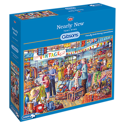 Image of Gibsons Nearly New, Jigsaw Puzzle, 1000 Piece