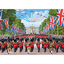 Buy Gibsons Trooping the Colour, Jigsaw Puzzle, 1000 Piece Online at johnlewis.com