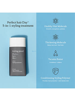 Buy Living Proof Perfect Hair Day 5-In-1 Styling Treatment, 118ml Online at johnlewis.com