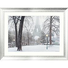 Buy Rod Chase - Foggy Day in Paris Framed Print, 86 x 112cm Online at johnlewis.com