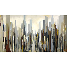 Buy Gregory Lang - Downtown Stretched Canvas, 110 x 60cm Online at johnlewis.com