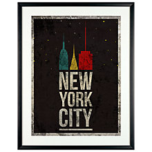 Buy Charlotte Oakley - NYC Poster Framed Print, 61 x 51cm Online at johnlewis.com