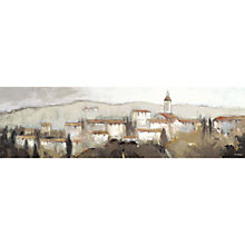 Buy Adelene Fletcher - Tuscan Village Stretched Canvas, 110 x 32cm Online at johnlewis.com