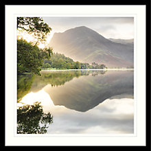 Buy Mike Shepherd - Sunrise On Buttermere Framed Print, 84 x 84cm Online at johnlewis.com