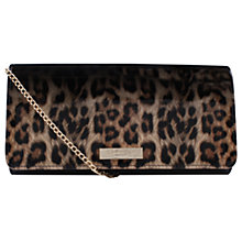 Buy Carvela Alice Clutch Bag, Black Comb Online at johnlewis.com