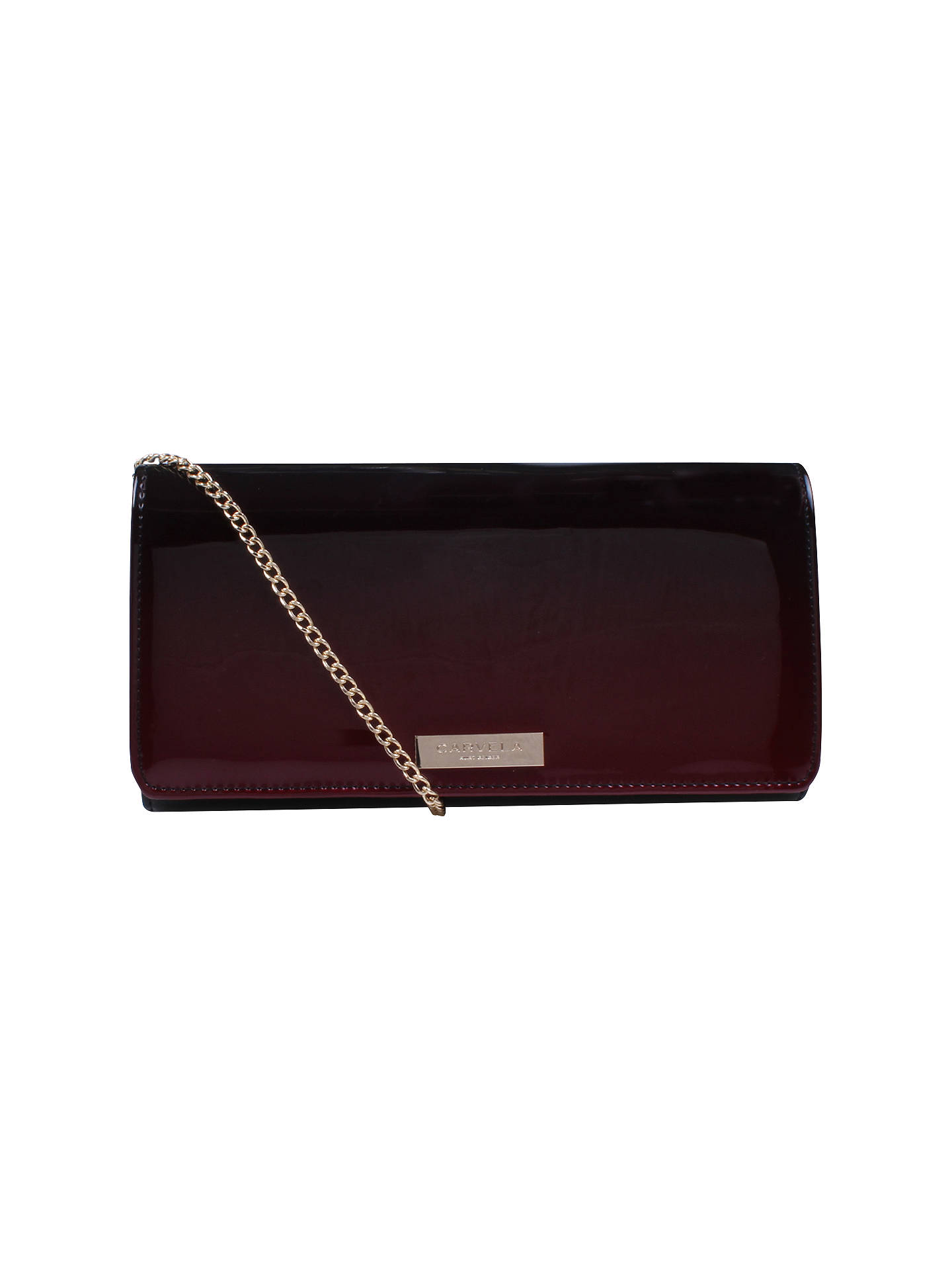 official store famous designer brand reasonable price Carvela Alice Clutch Bag, Wine