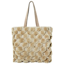 Buy White Stuff Pom Tote Bag, Fawn Online at johnlewis.com