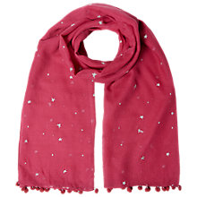 Buy White Stuff Midnight Star Wool Scarf Online at johnlewis.com