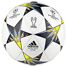 Buy adidas UCL Finale 18 Kiev Football, Size 5 Online at johnlewis.com