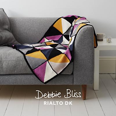 Debbie Bliss Rialto DK Blanket Crochet Pattern Review