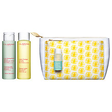 Buy Clarins Cleansing Collection Normal/Dry Skin Set Online at johnlewis.com