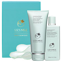 Buy Liz Earle Daily Glow Duo Skincare Gift Set Online at johnlewis.com