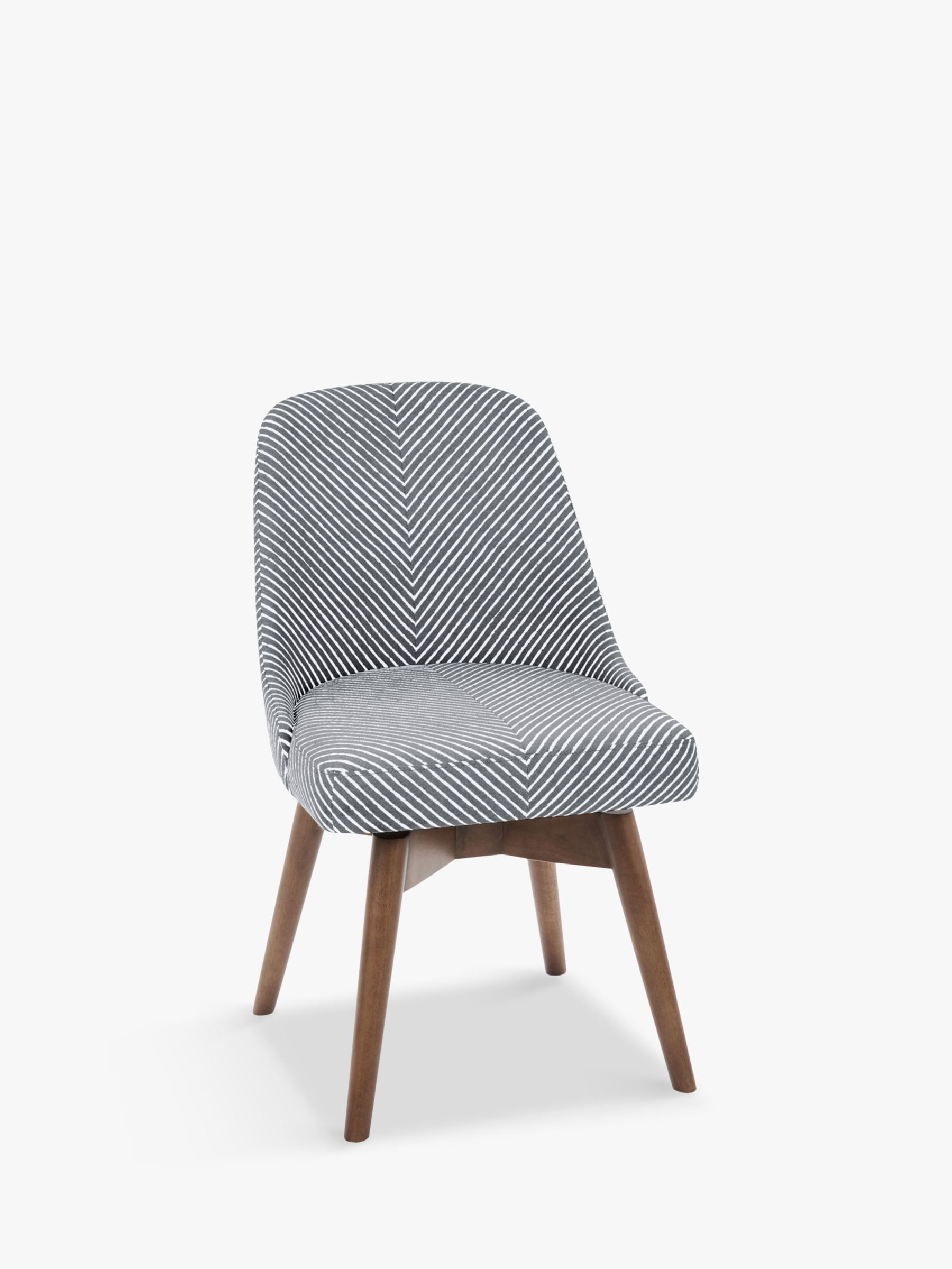 Image of: West Elm Mid Century Office Chair Gravel Stripe At John Lewis Partners