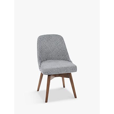 west elm Mid-Century Dining Chair, Gravel Stripe