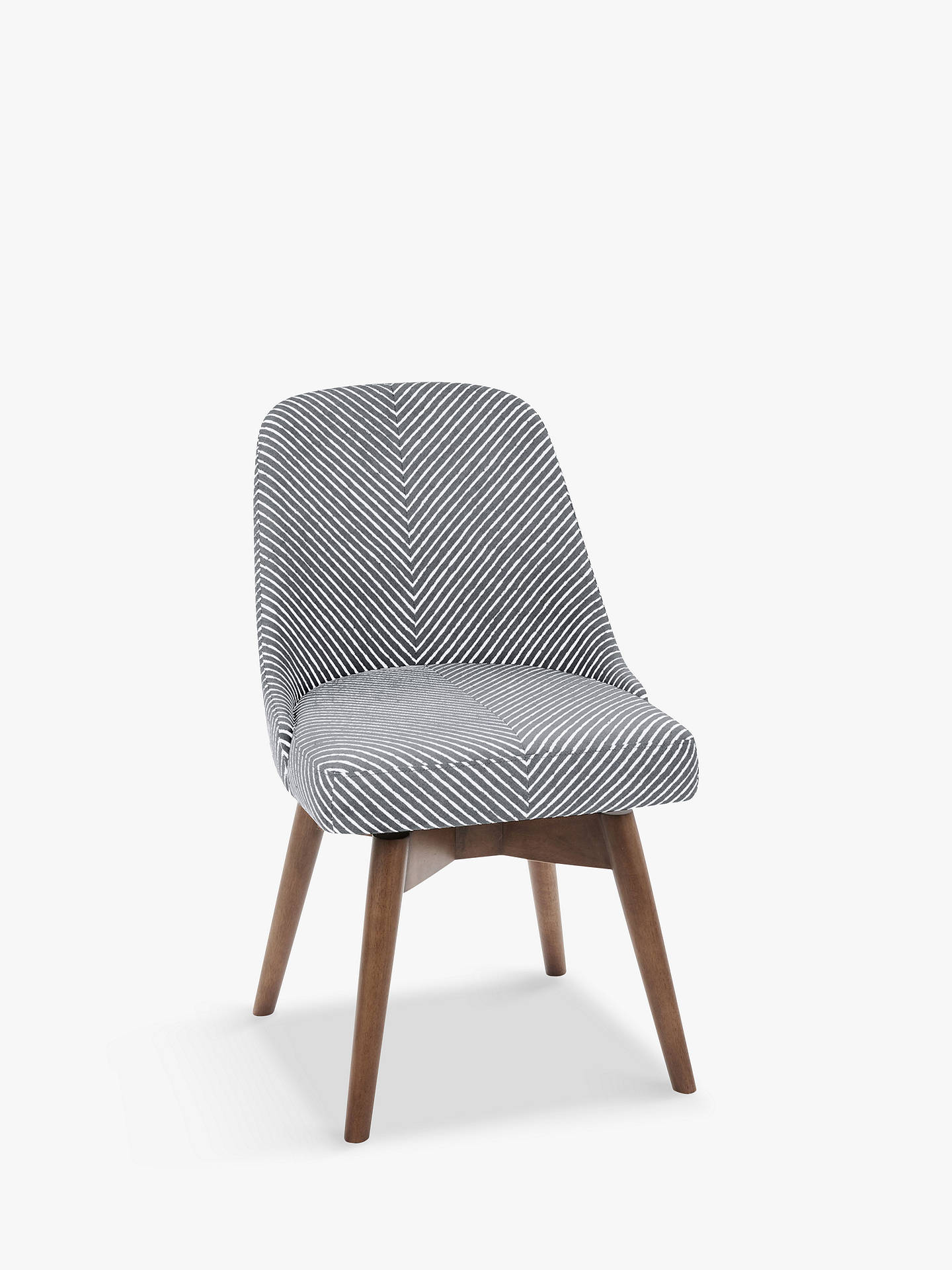 Prime West Elm Mid Century Office Chair Gravel Stripe Machost Co Dining Chair Design Ideas Machostcouk