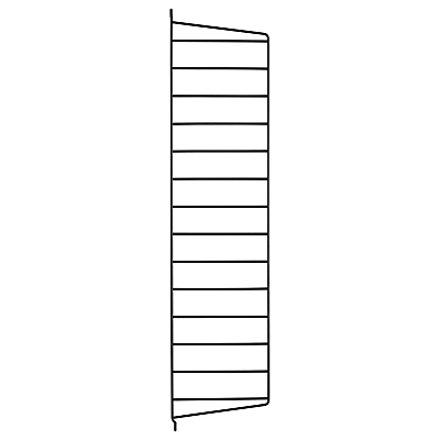 string Wall Panel Side Rack, H75cm