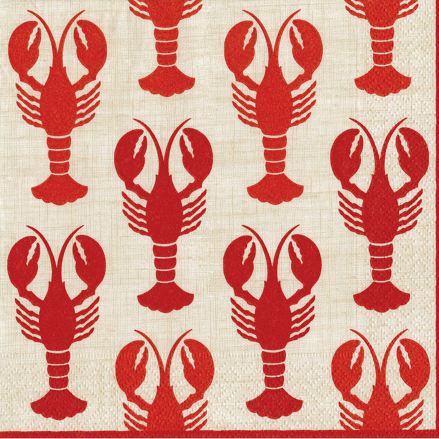 BuyCaspari Lobsters Paper Napkins, Pack of 20 Online at johnlewis.com