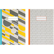 Buy Mini Moderns B6 Notebooks, Set of 2 Online at johnlewis.com