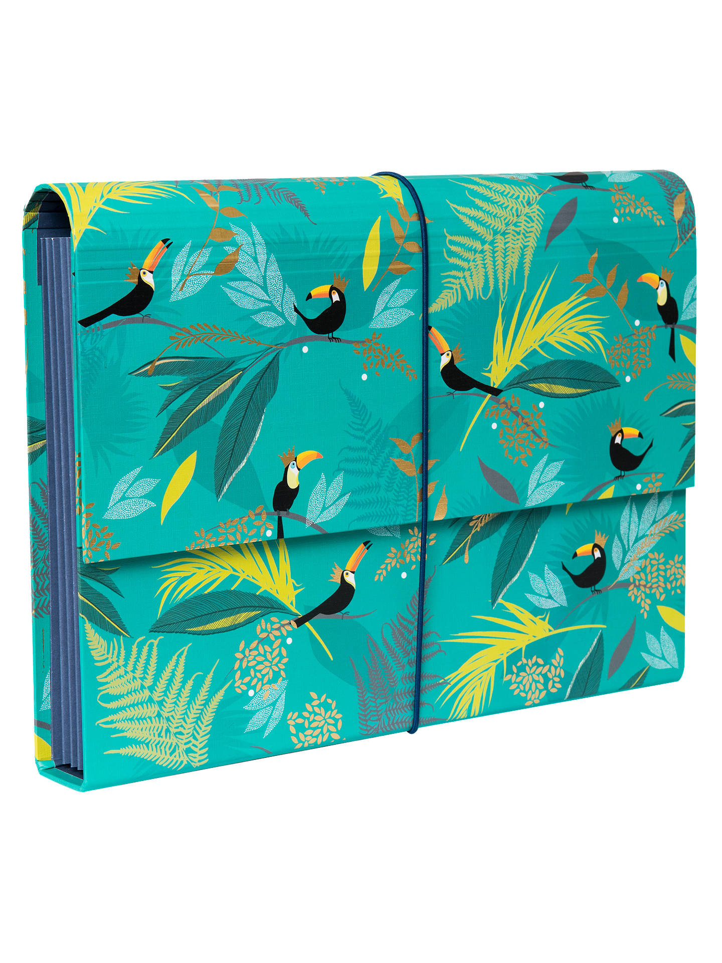 Buy Sara Miller Expander File, Turquoise Online at johnlewis.com