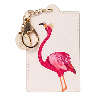 Image of Sara Miller Flamingo Keyring, Pink