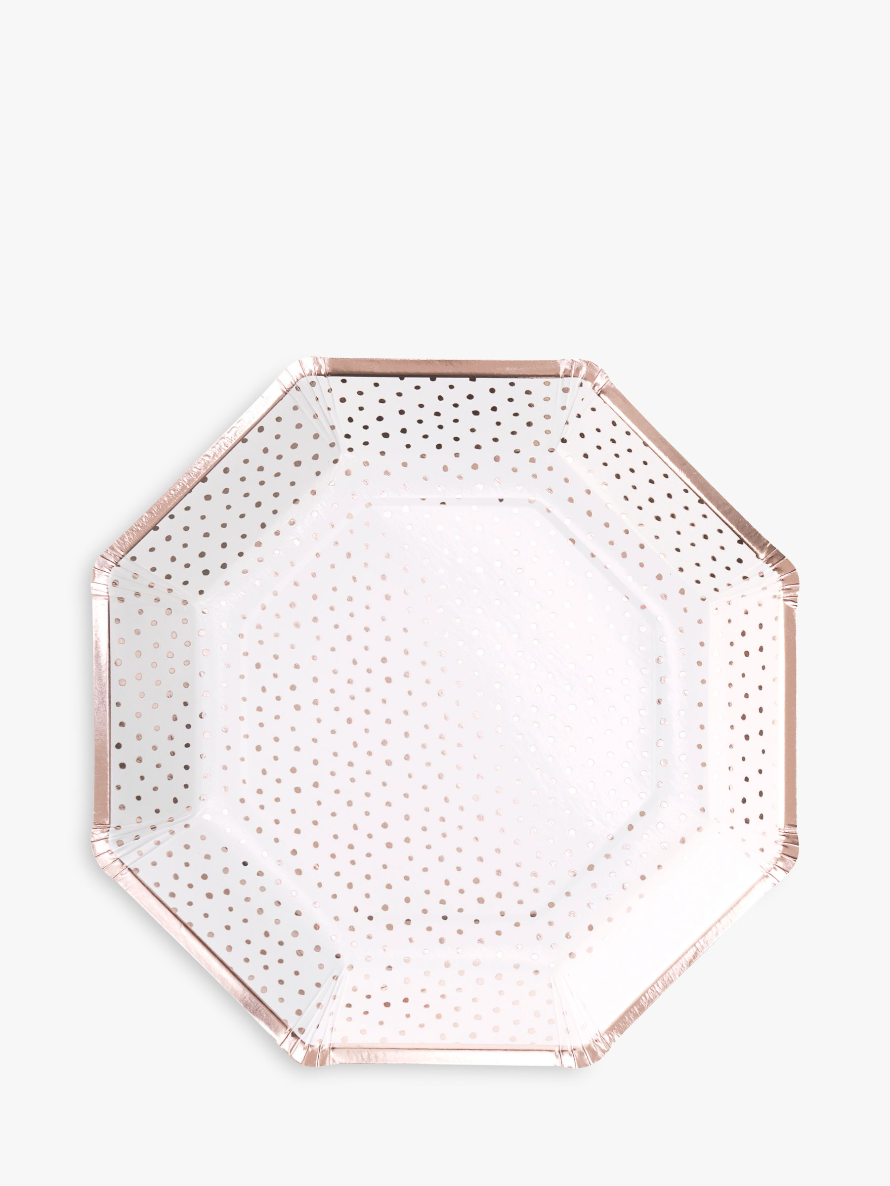 Ginger Ray Ginger Ray Spotty Plates, Pack of 8