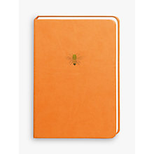 Buy Portico Sky & Miller Bee A5 Notebook Online at johnlewis.com