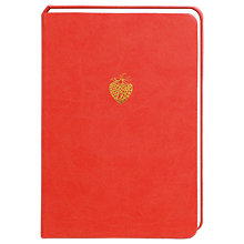Buy Portico Sky & Miller Strawberry A5 Notebook Online at johnlewis.com
