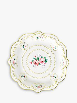 Talking Tables Truly Chintz Paper Plates, Pack of 8