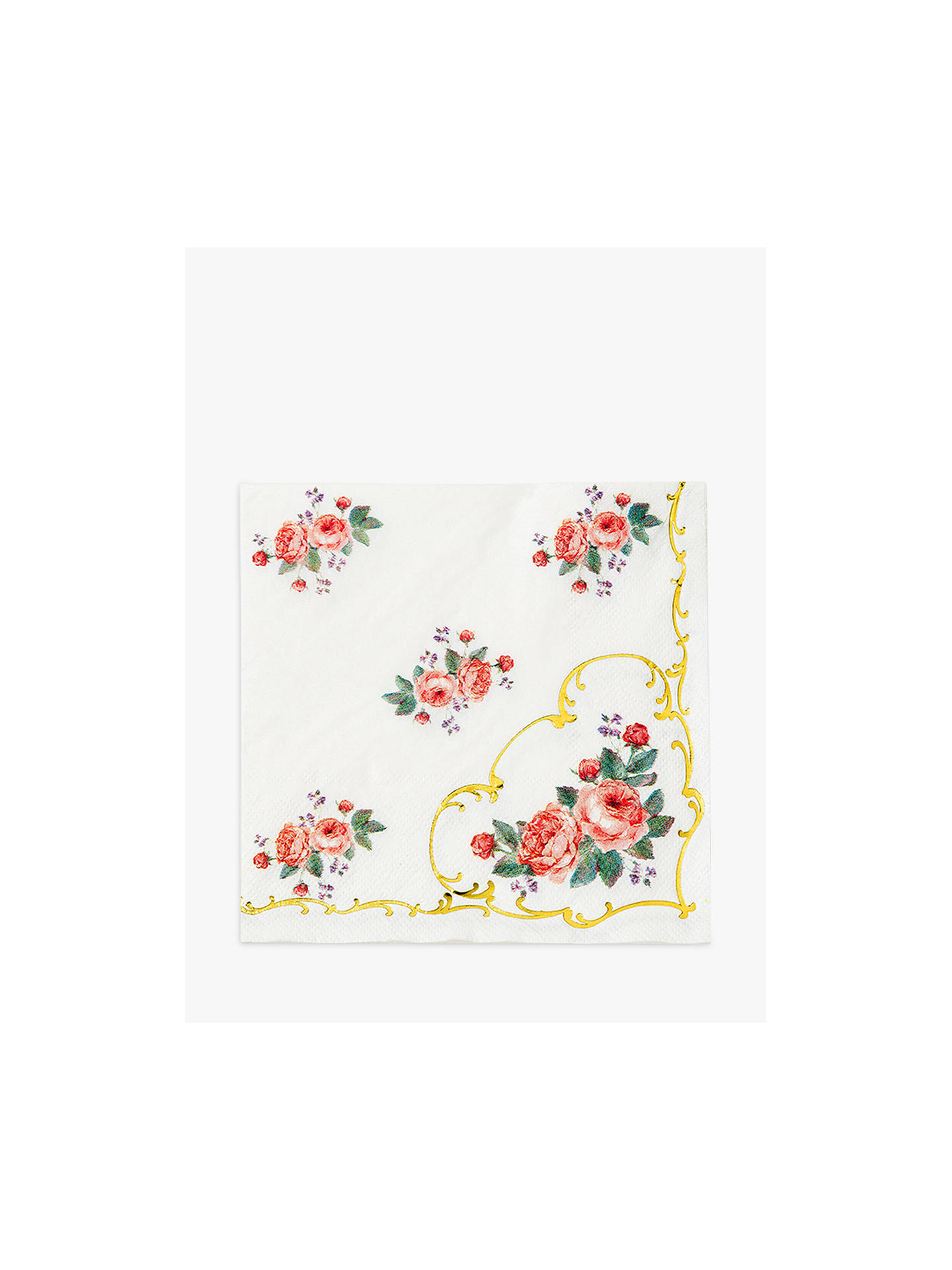 Buy Talking Tables Chintz Table Napkin, Pack of 16 Online at johnlewis.com