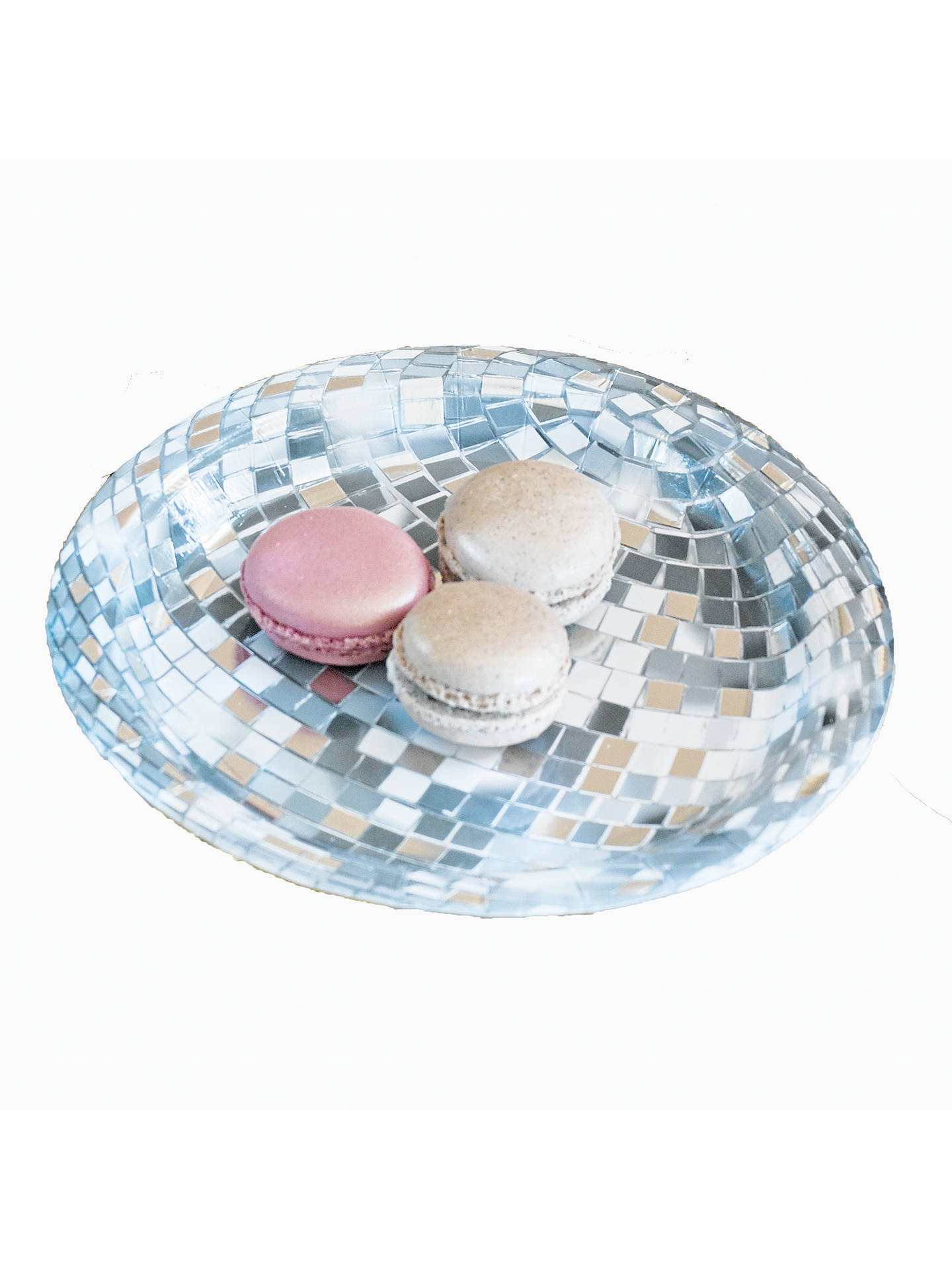 BuyTalking Tables Glitterati Disco Ball Paper Plates, Pack of 12 Online at johnlewis.com