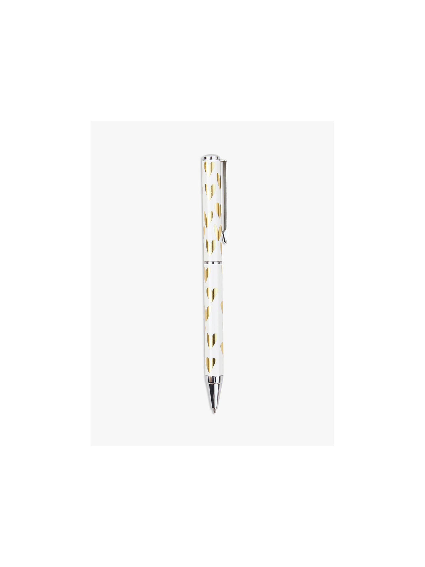 Buy Caroline Gardner Hearts Boxed Ballpoint Pen Online at johnlewis.com