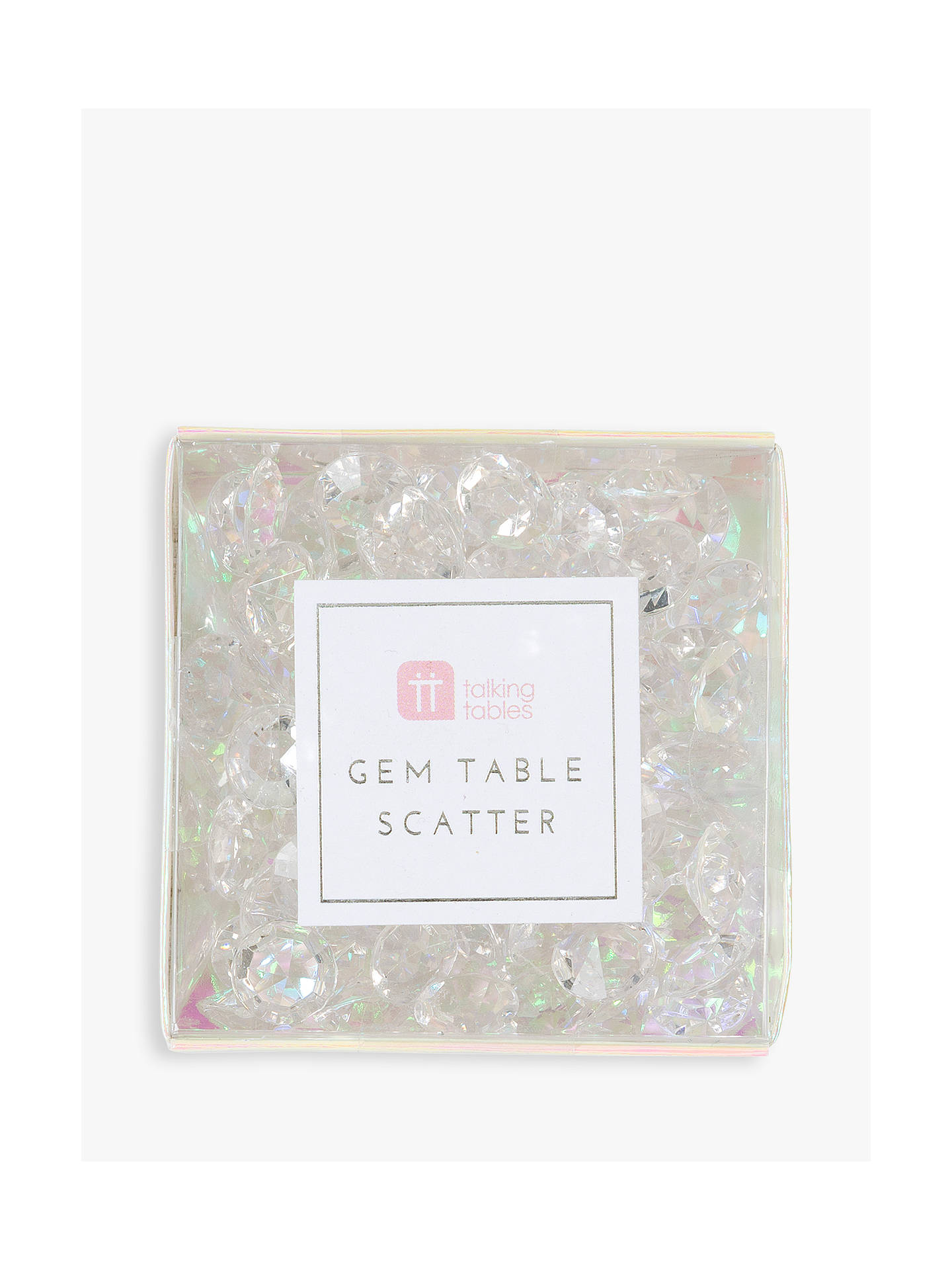 Buy Talking Tables Iridescent Gem Table Scatter Online at johnlewis.com