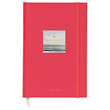 Buy kate spade new york Travel Journal Online at johnlewis.com