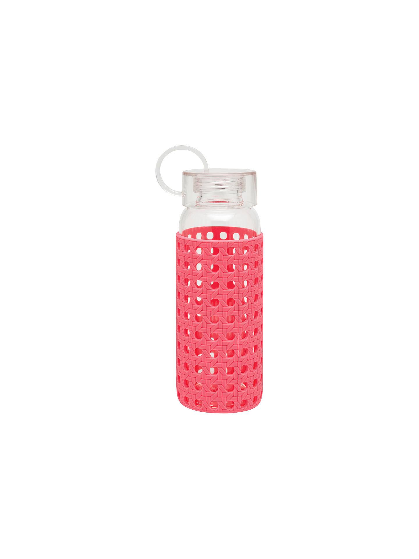kate spade new york Glass Water Bottle, Pink
