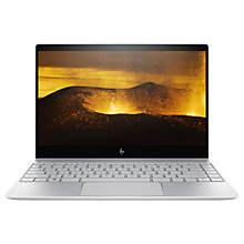 "Buy HP ENVY 13-ad102na Laptop, Intel Core i5, 8GB RAM, 128GB SSD, 13.3"", Full HD, Silver Online at johnlewis.com"