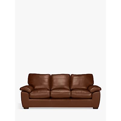 John Lewis Camden Grand 4 Seater Sofa, Dark Leg