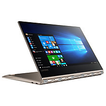 "Buy Lenovo Yoga 910 Convertible Laptop, Intel Core i7, 8GB RAM, 256GB SSD, 13.9"", 4K Online at johnlewis.com"