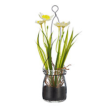 Buy John Lewis Artificial Daffodils In A Jar, White Online at johnlewis.com