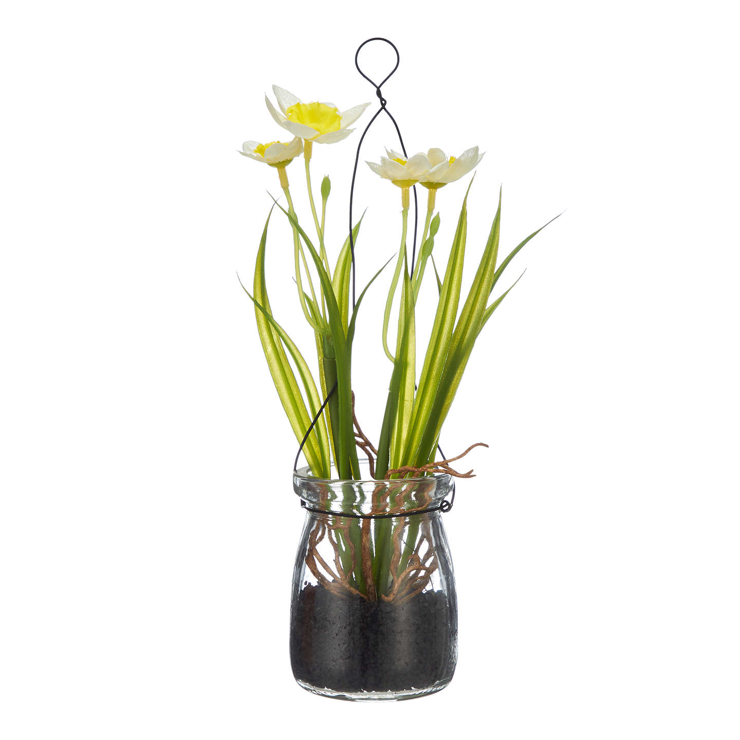 John lewis artificial daffodils in a jar white at john lewis buyjohn lewis artificial daffodils in a jar white online at johnlewis mightylinksfo