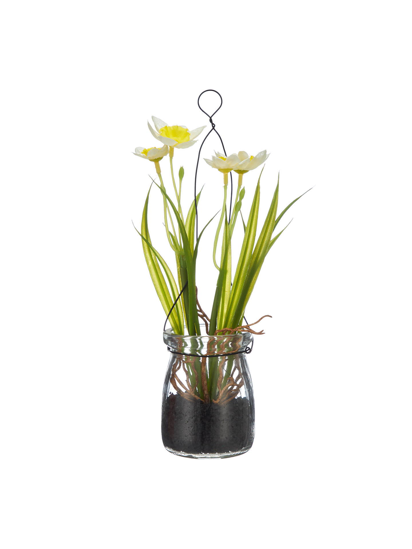 John Lewis Artificial Daffodils In A Jar White At John Lewis Partners