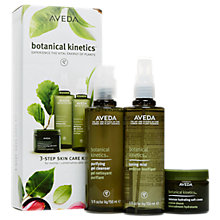 Buy AVEDA Botanical Kinetics™ 3-Step Skincare Gift Set Online at johnlewis.com