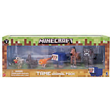Buy Minecraft Series 3 Tame Animal Pack Online at johnlewis.com