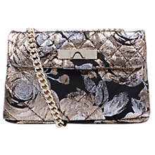Buy Kurt Geiger Kensington Cross Body Bag, Gold Online at johnlewis.com