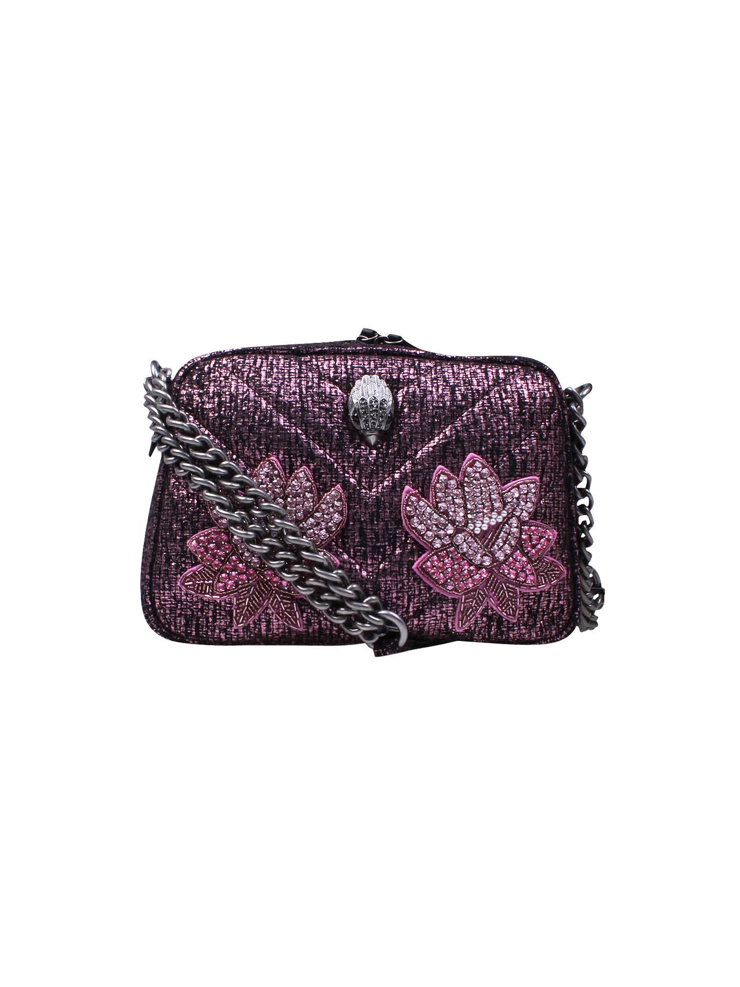 bfad940d7f65 Buy Kurt Geiger Tweed Plum Cross Body Bag