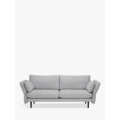 Design Project by John Lewis No.142 Large 3 Seater Sofa, Dark Leg, Connie Mist
