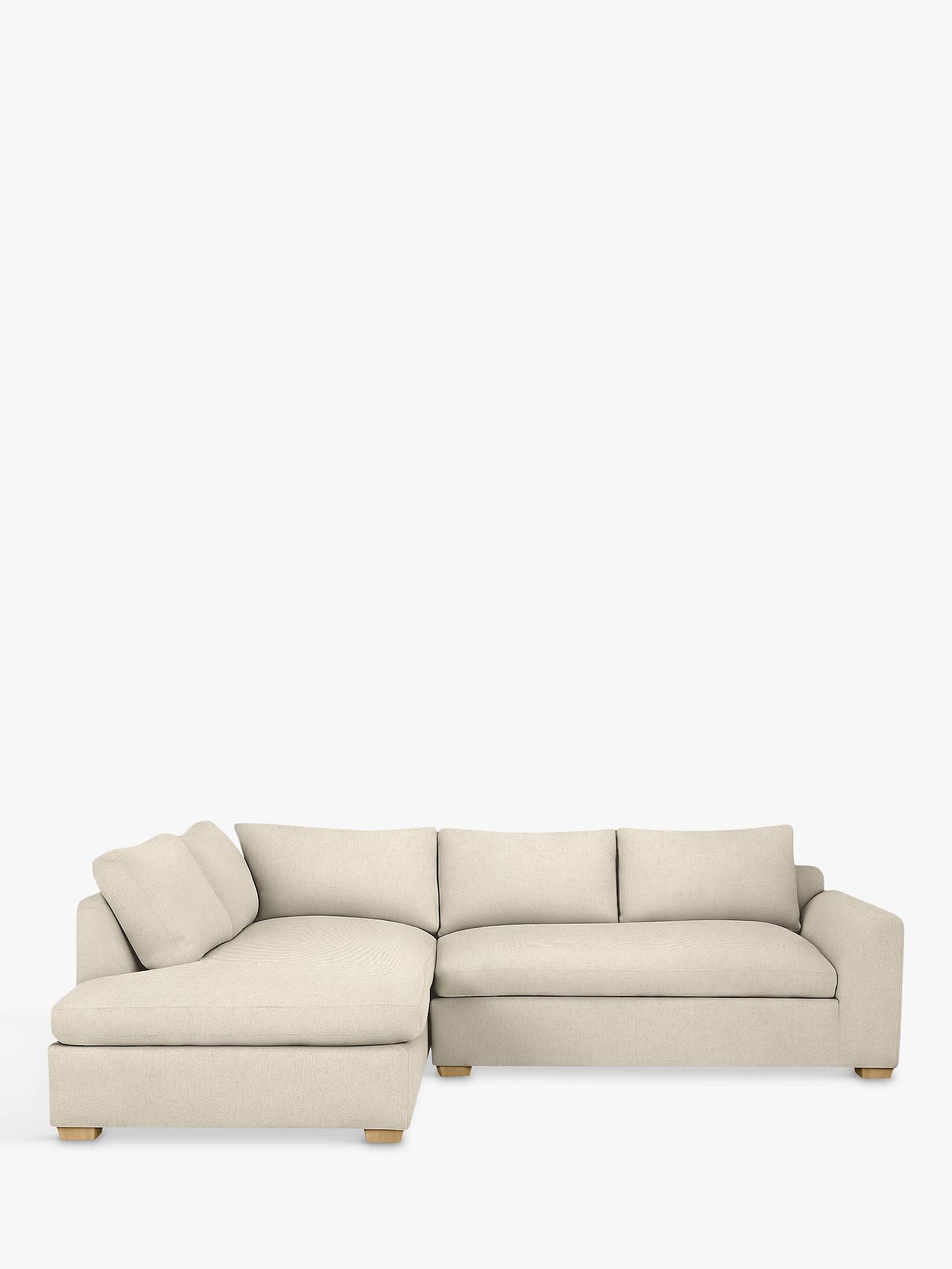 John Lewis & Partners Tortona LHF Chaise End Sofa, Light Leg ... on chaise furniture, chaise sofa sleeper, chaise recliner chair,