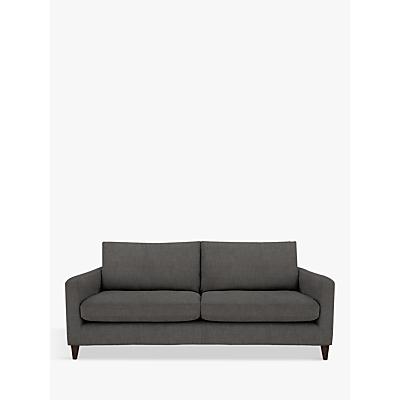 John Lewis Bailey Grand 4 Seater Sofa, Fraser Steel