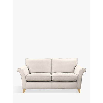 John Lewis Charlotte Large 3 Seater Sofa, Light Leg, Lynton Putty