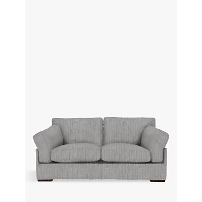 John Lewis Java Medium 2 Seater Sofa, Dark Leg, Porto Blue Grey