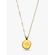 Buy Under the Rose Personalised Initial Necklace Online at johnlewis.com